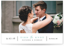 Bottom Line Wedding Announcements