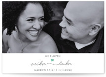 Love Connection Wedding Announcements