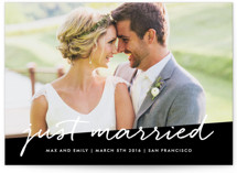 Scripted Wedding Announcements
