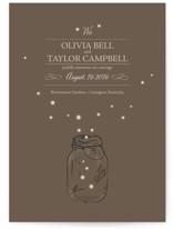 fireflies Wedding Announcements