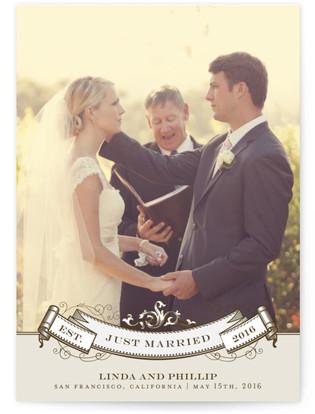 Celebration Wedding Announcement Postcards
