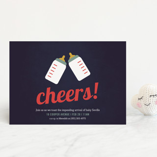 Cheers! Baby Shower Postcards