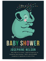 Baby Elephant Baby Shower Postcards