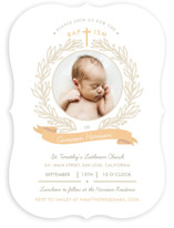 Baptism Wreath Baptism & Christening Announcements