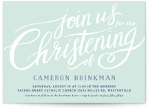 Heartfelt Baptism & Christening Announcements