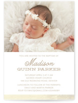 Sweet Baptism Baptism & Christening Announcements