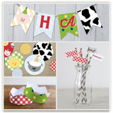 Barnyard Crew Party Decor