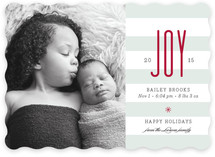 Source of Joy Holiday Birth Announcements