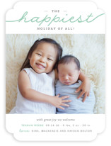 The Merriest Christmas Of All Holiday Birth Announcements