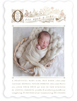 Storybook Foil-Pressed Birth Announcements