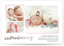 All The Details Foil-Pressed Birth Announcements