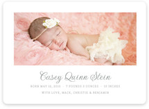 Pure Birth Announcement Magnets