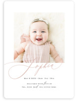 Happy Baby Birth Announcement Magnets