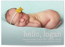 Hello Baby Birth Annoucement Postcards
