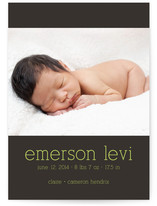Luxe Birth Annoucement Postcards