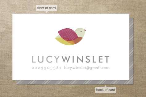 Bright Bird Business Cards