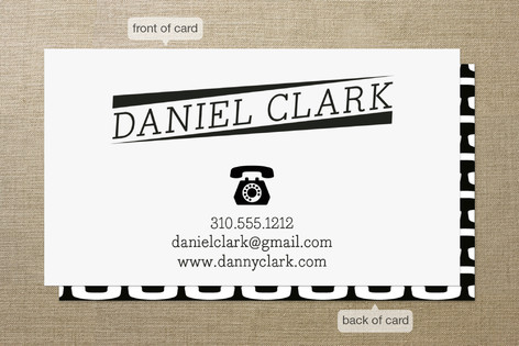 Classic Calling Card Business Cards