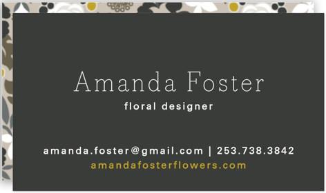 Clean Cut Florals Business Cards
