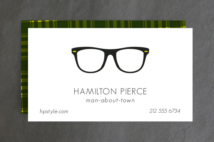 Man About Town Business Cards by 2birdstone