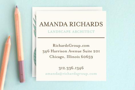 Botanic Business Cards