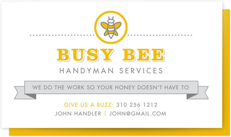 Busy Bee Business Cards