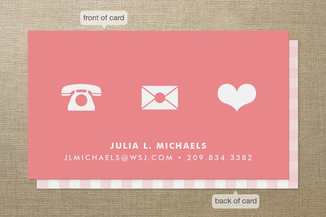 Icons Business Cards