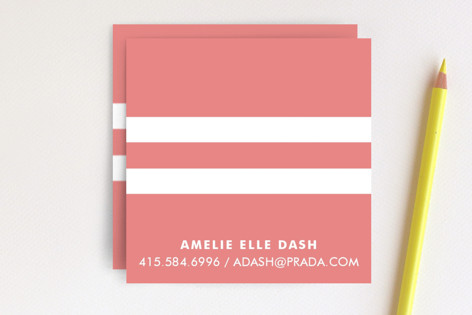 Pique Chic Business Cards