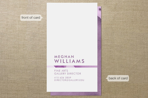 Gallery Director Business Cards