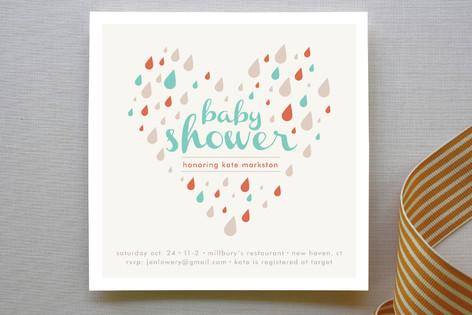 Shower of Love Baby Shower Invitations