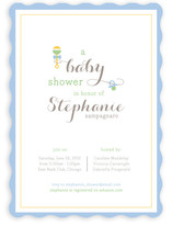 Rattle and Hum Baby Shower Invitations