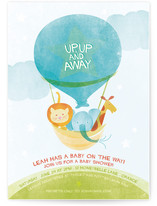Cloud Nine Baby Shower Invitations