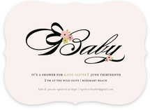 Audrey Baby Baby Shower Invitations