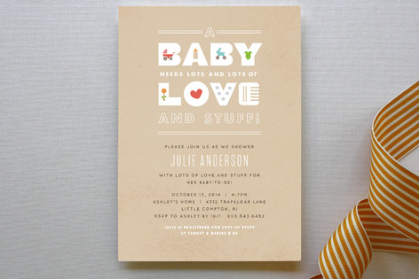 baby essentials baby shower invitations by jennife minted