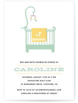 Rockabye Baby Baby Shower Invitations