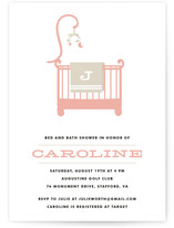 Rockabye Baby Baby Shower Invitations