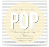 Pop Baby Shower Invitations
