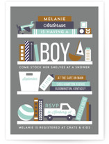 Stock The Shelves Baby Shower Invitations
