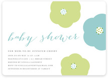 In Bloom Baby Shower Invitations