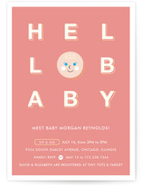 Hello Cutie Baby Shower Invitations