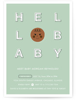 Hello Cutie Baby Shower Invitations