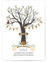 Woodland Baby Baby Shower Invitations