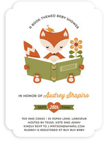 Little Reader Baby Shower Invitations