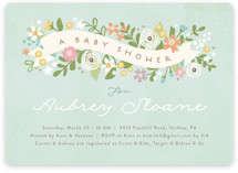 Rites Of Spring Baby Shower Invitations