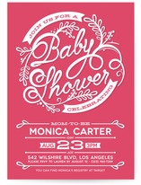 Shower Script Baby Shower Invitations