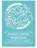 Shower Script Baby Shower Invitations