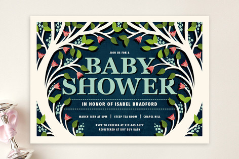 Fable Baby Shower Invitations