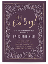 Oh Baby Floral by Rachel Buchholz