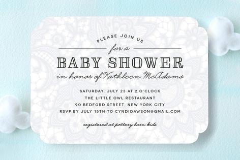 Laycie Baby Shower Invitations