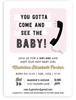 Come and See Baby Shower Invitations