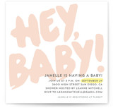 Hey Baby! Baby Shower Invitations